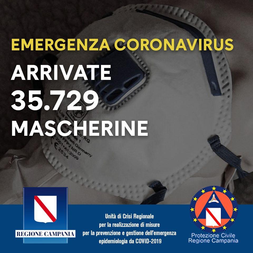 Regione Campania: EMERGENZA COVID-19