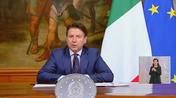 Conte: misure restrittive prorogate al 3 maggio