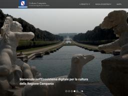 """Regione Campania: È online """"Cultura Campania"""", il portale dell'Ecosistema digitale per la cultura della Regione Campania"""